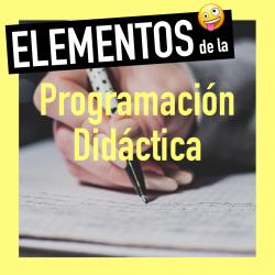 Elementos de una programación didáctica