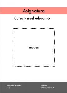 ejemplo portada programación didáctica