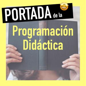 Portada Programación didáctica Oposiciones