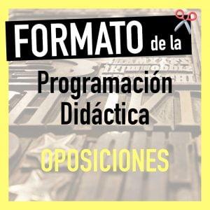 Formato de la Programación Didáctica por Comunidades Autónomas (Infantil y Primaria)