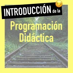 Introducción de la programacion de aula