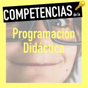 Competencias programación docente