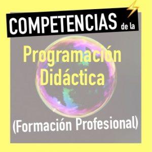 competencias programación didáctica fp