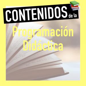 Contenidos programación educativa