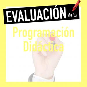Evaluación programación docente