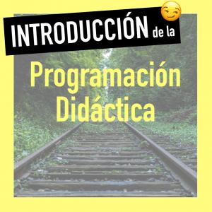 Introduccion programacion de aula