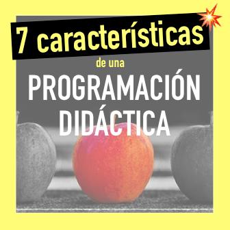 Caracteristicas de la programación de aula