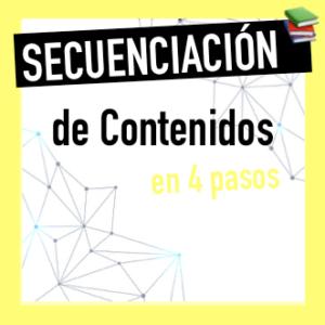 Secuenciación de contenidos en la Programación Didáctica