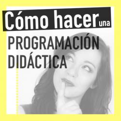 Programación didáctica en 1 semana