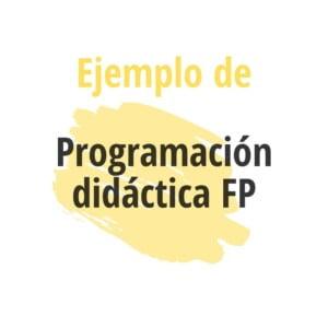 descargar ejemplo programación formación profesional