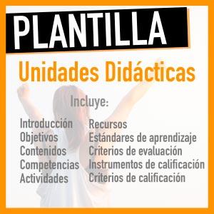 plantilla unidad didáctic excell oposiciones primaria y secundaria