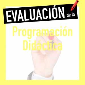 evaluación programación de aula oposiciones