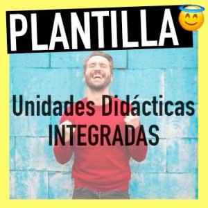 plantilla unidades didácticas integradas oposiciones primaria y secundaria