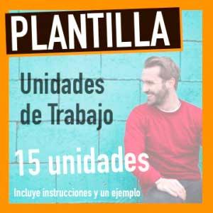 plantilla unidad didáctica word lomce