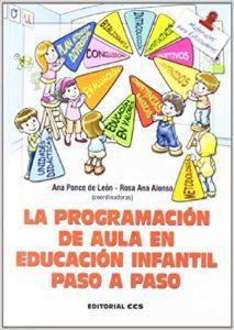 programación didáctica infantil guía paso a paso