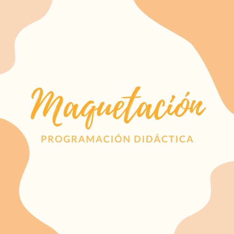 curso maquetación programación oposiciones