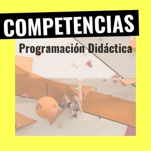 competencias de la programación didáctica