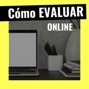 evaluación online con tics