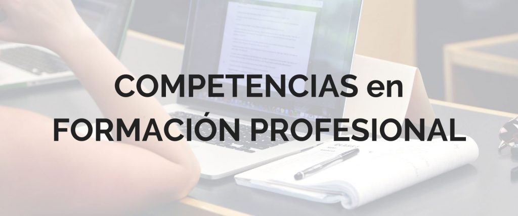 competencias en formación profesional