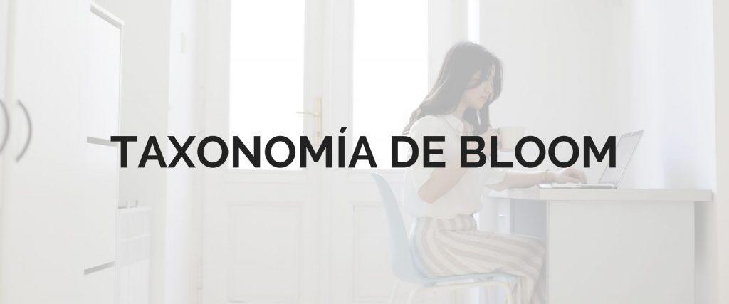 Taxonomía de bloom ejemplos