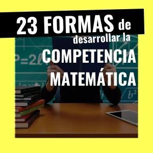 competencia matemática en la programación didáctica